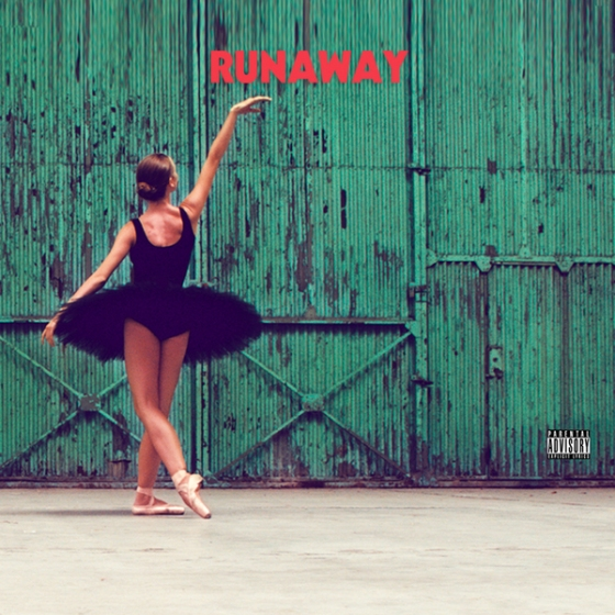 album cover for 'runaway' single