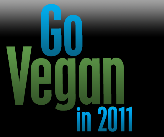 Go Vegan in 2011