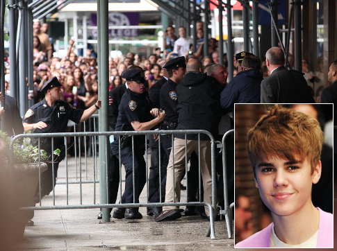 Bieber Attacks Undercover Cop