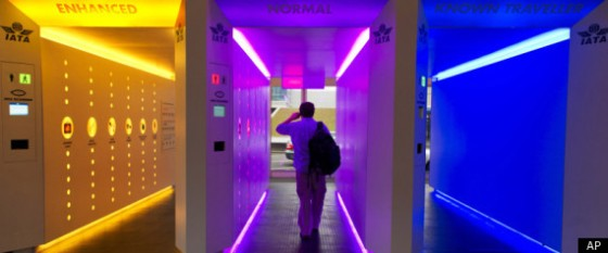 "Airport Security ""Checkpoint Of The Future"""