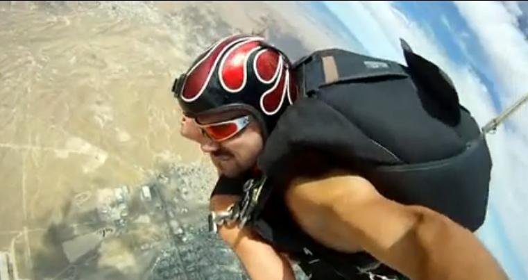 The news sex skydiving with lisa ann pt 2