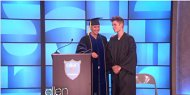 Justin Bieber Graduates High School (VIDEO)